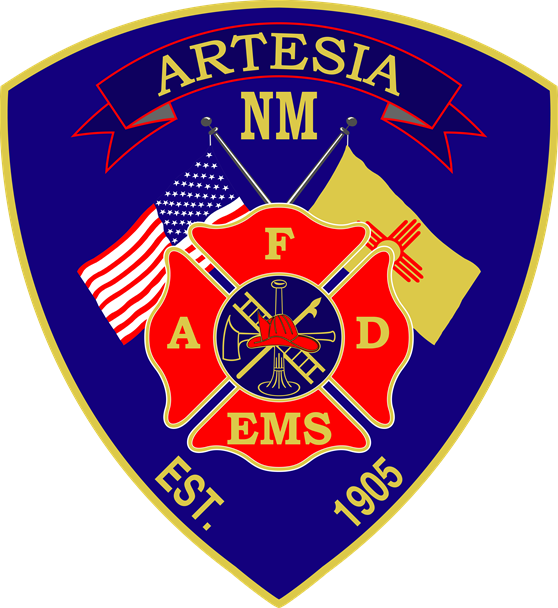 Artesia Fire Department Patch